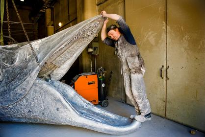 The making of 'Laulupuut' welded sculpture