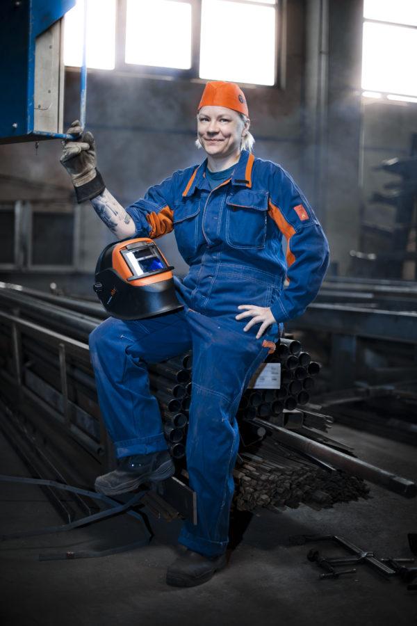 Welder Katja Vironen