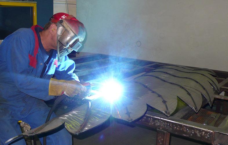 Tack welding