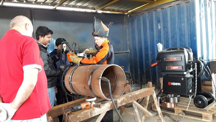 MAG orbital welding