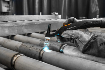 Welding torch testing proves quality and durability