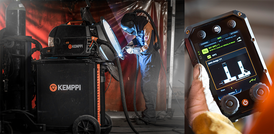 X8 MIG Welder and Control Pad