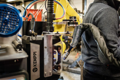 Welding robotization by Kemppi and Inrotech