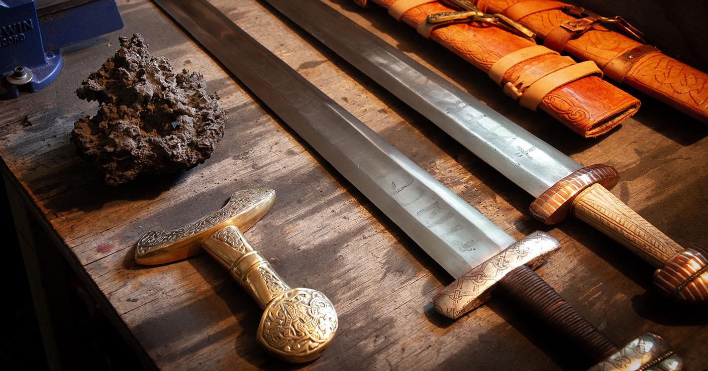 Ancient blacksmiths were pioneers of modern welding