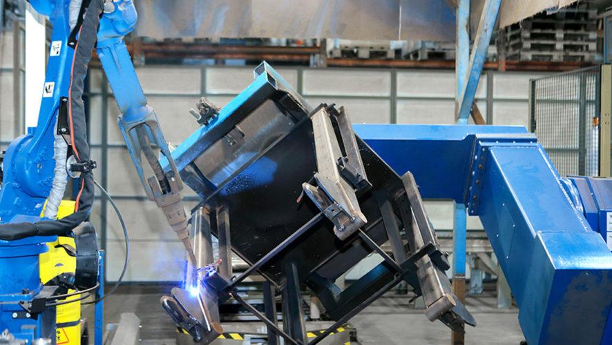 Työkappaleen robotisoitu hitsaus vaatii saumatonta yhteistyötä